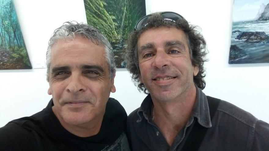 Santiago Jorge (i) y José Manuel Hernández.