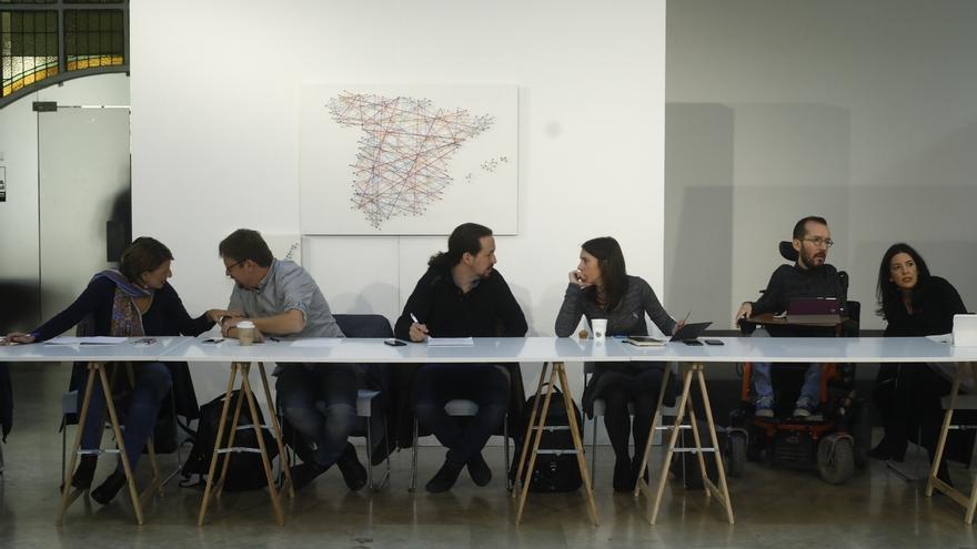 Iglesias descalifica la comisión territorial del PSOE y lanza una ruta por España para explicar su propia propuesta