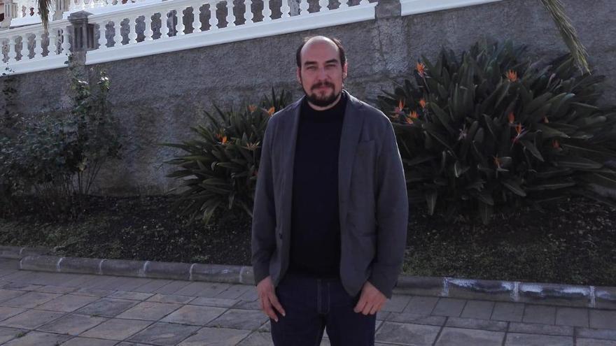 Yeray Rodríguez es el actual alcalde de Garafía.