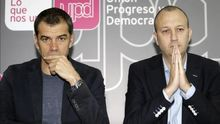 Toni Cantó y Alexis Marí se enfrentaron en UPyD y ahora han coindicido en Ciudadanos