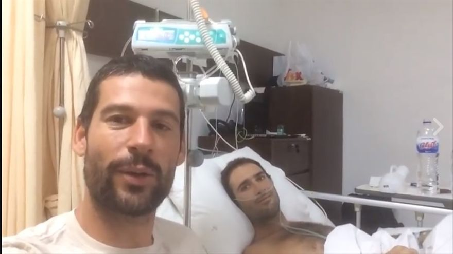 Cristian Bosco ha trasladado las buenas noticias a través de un vídeo en las redes sociales.