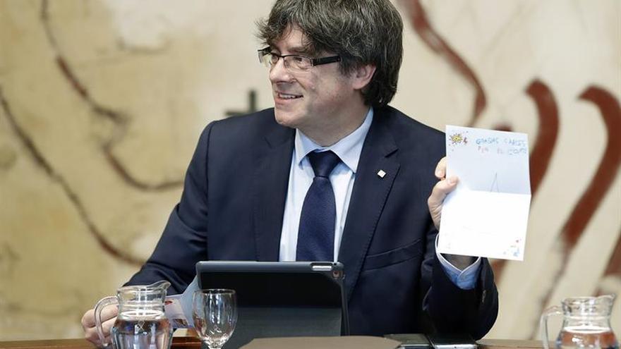 Podem insta a Puigdemont a ir cuanto antes al Congreso a explicar referendo