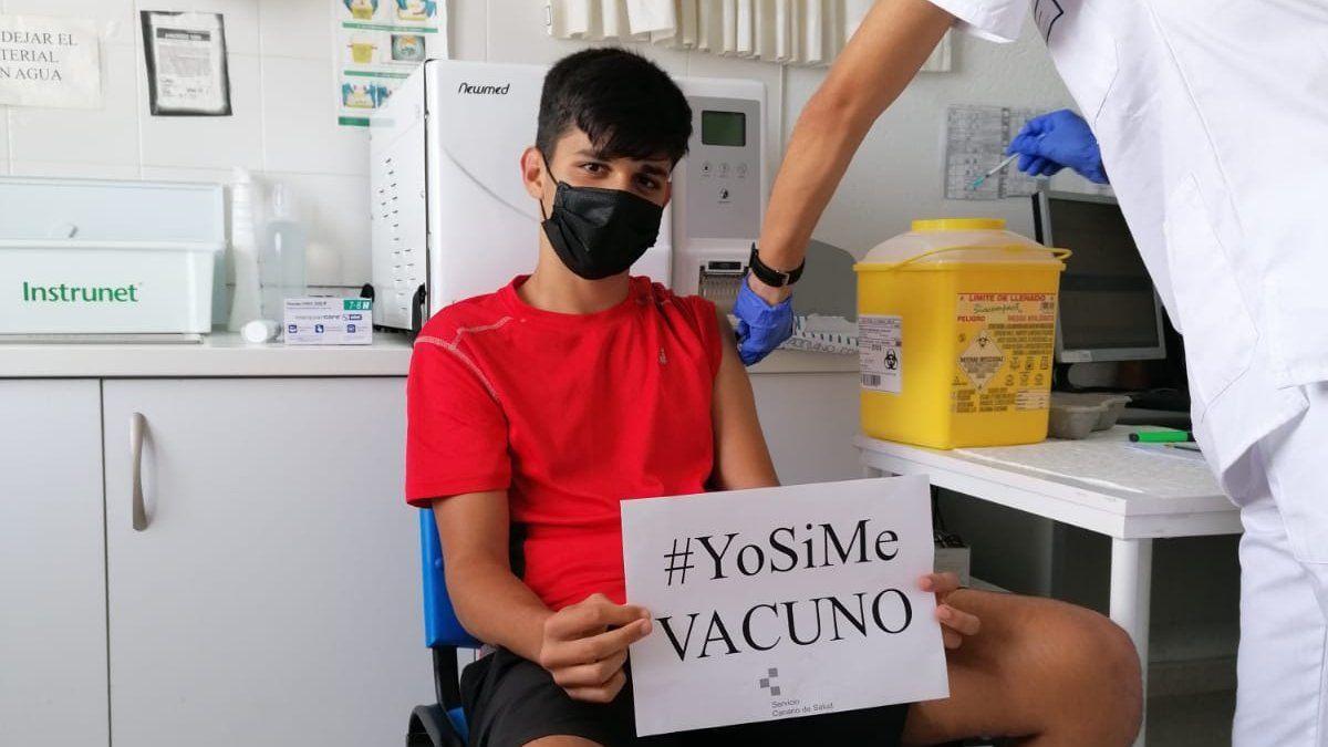 Vacunación contra la COVID a mayores de 12 años en Lanzarote, Canarias