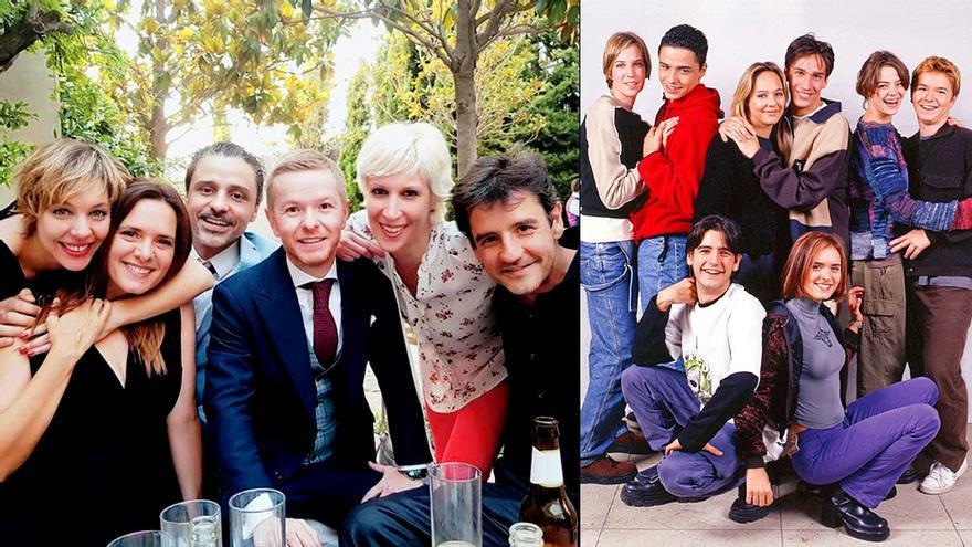 """Los """"Compañeros"""" de Antena 3, juntos 20 años después en la boda de uno de ellos"""
