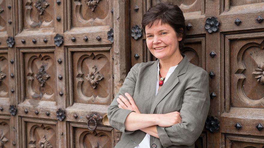 Kate Raworth, economista e investigadora en el Instituto Ambiental de Oxford.