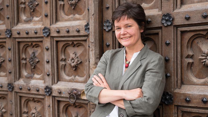 Kate Raworth, economista e investigadora en el Instituto Ambiental de Oxford.