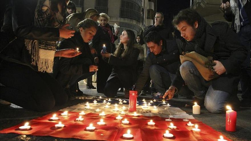 Erasmus franceses que estudian en Ciudad Real se concentran por los atentados