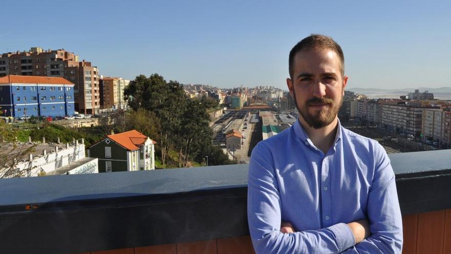 El candidato a la Alcaldía de Bezana, Luis del Piñal.   Twitter @LPdeCos