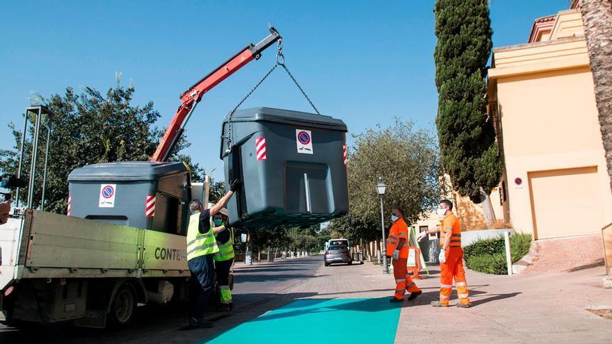 Concluye en abril la agrupación de contenedores con las cuatro fracciones de residuos en todos los barrios