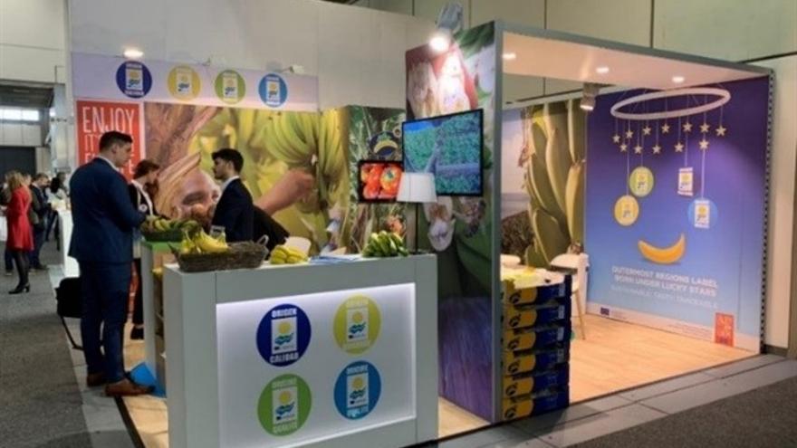 'Stand' de productos locales canarios en una edición del Salón Gourmet