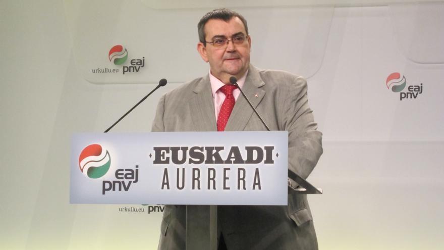 """Mediavilla subraya que PNV y EH Bildu no pueden vivir """"una de espaldas a la otra en materia de autogobierno"""""""