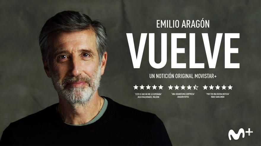 Imagen promocional del regreso de Emilio Aragón a TV