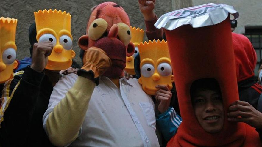 """""""Los Simpsons"""" agradecen a bolivianos que exigieron la reposición de la serie"""