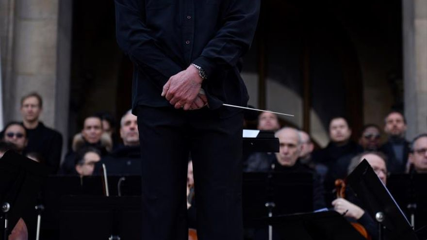 Concierto protesta de la Ópera de París contra la reforma de las pensiones