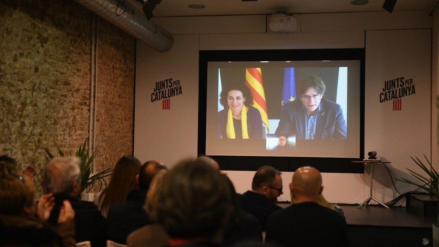 """Puigdemont tilda de """"impropio de una democracia"""" que la JEC le impidiese presentarse"""