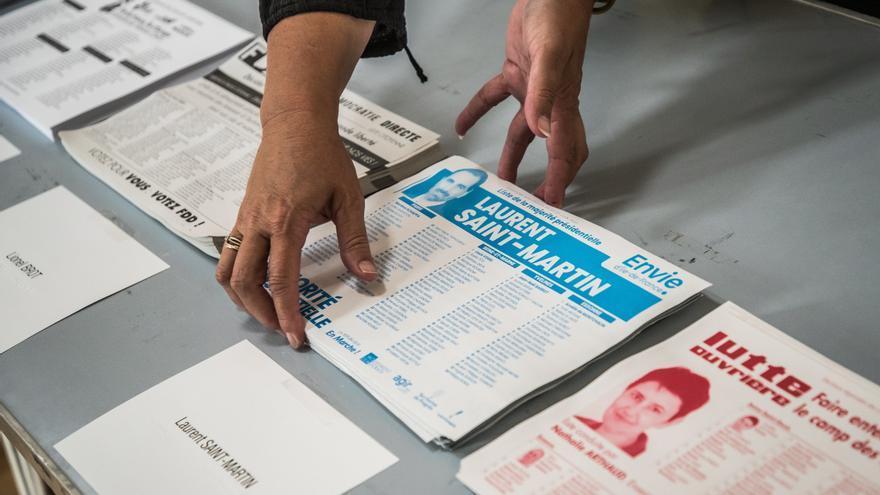 Los franceses celebran la segunda vuelta de sus elecciones regionales