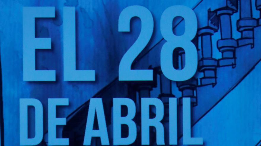 El actor Carlos Bardem durante la presentación del manifiesto
