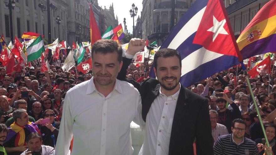 """Miles de personas se manifiestan con IULV-CA en el 28F para que """"el cambio de España empiece en Andalucía"""""""