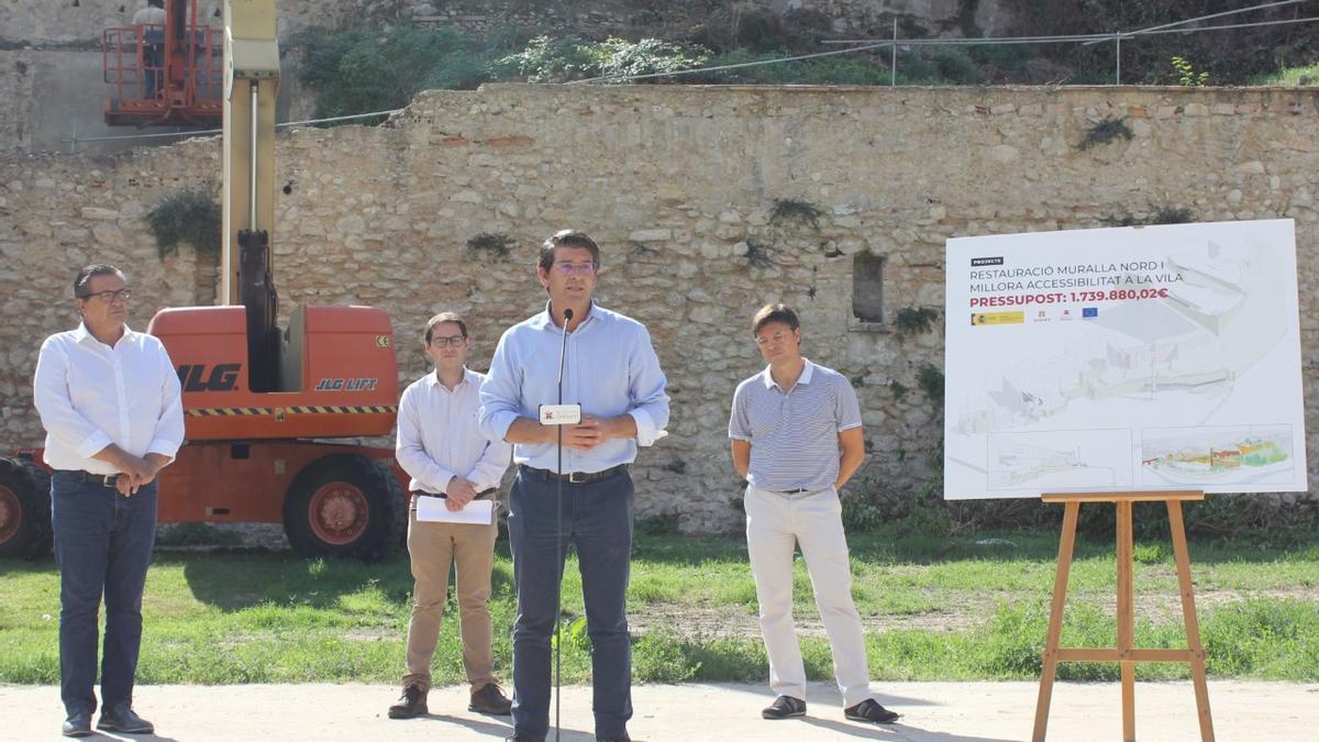 Jorge Rodríguez ha presentado el inicio de las obras.
