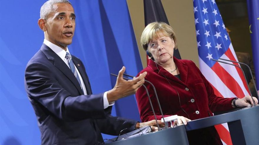 Obama y Merkel se citan en mayo en Berlín en un congreso de la Iglesia evangélica