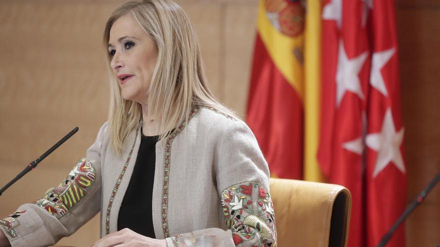 """Cifuentes cree que negar un homenaje a Miguel Ángel Blanco retrata """"bastante la talla moral"""" del político que se opone"""