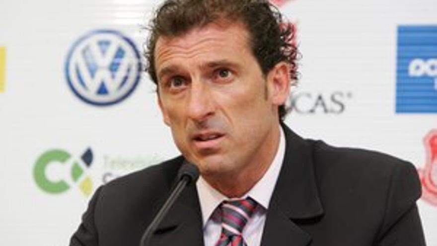 Óscar Arias, director deportivo de la UD Las Palmas.
