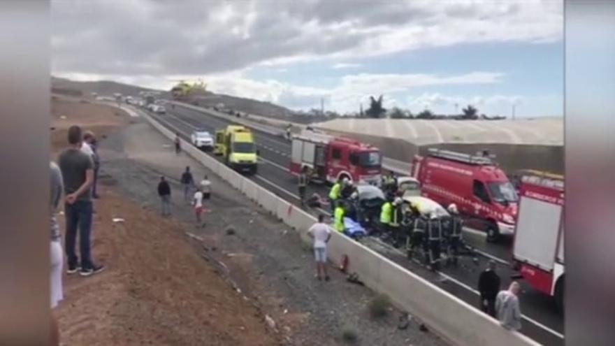 Imagen del accidente de RTVC