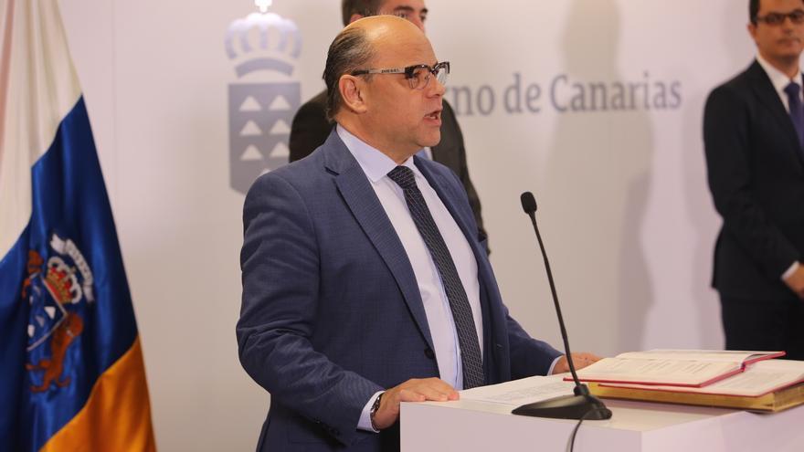 El consejero de Presidencia, Justicia e Igualdad José Miguel Barragán (ALEJANDRO RAMOS)