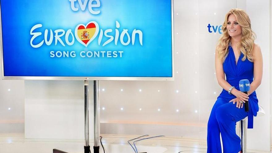 """Edurne, una tigresa en el videoclip de """"Amanecer"""" para Eurovisión 2015"""