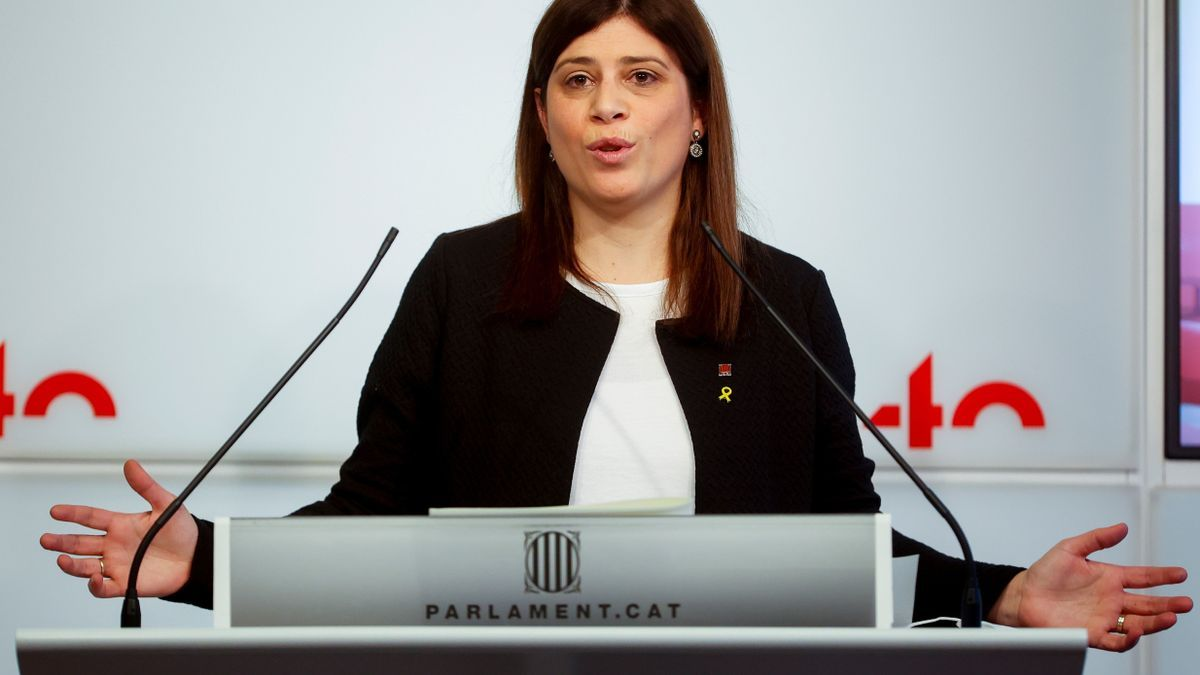 La consellera de Universidades e Investigación de Cataluña, Gemma Geis.