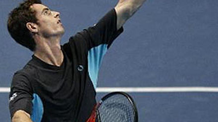 Murray doblega a Del Potro en el partido inaugural