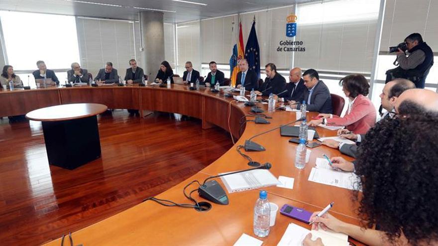 Primera reunión de la comisión para la elaboración de la Estrategia de Economía Azul, este miércoles en Las Palmas