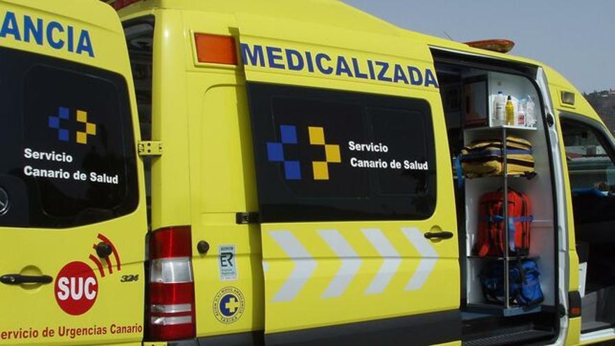 Ambulancia del SUC.