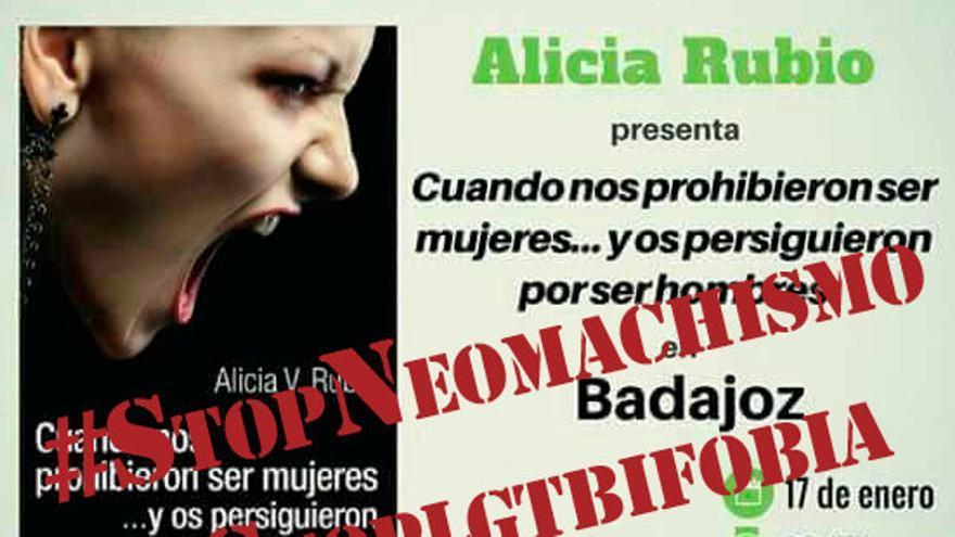 Imagen de la campaña de la Red Feminista Extremadura