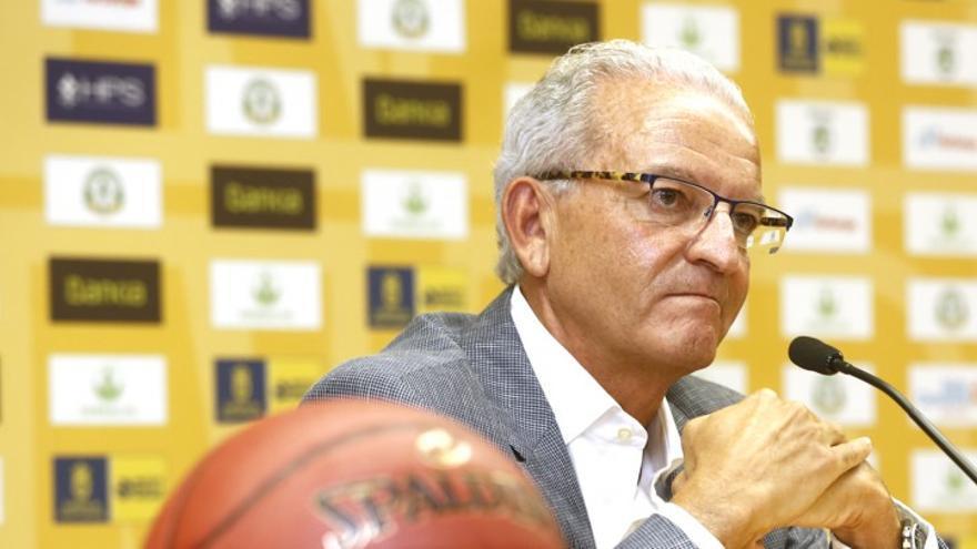 El presidente del Herbalife Gran Canaria, Miguelo Betancor. (Página oficial Herbalife Gran Canaria).