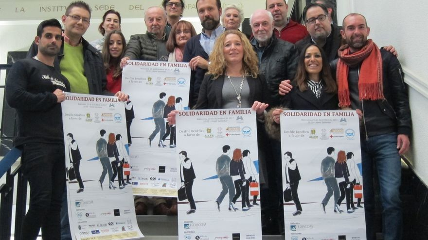 Más de cien personas desfilarán el día 20 en una jornada a favor de cinco entidades sociales