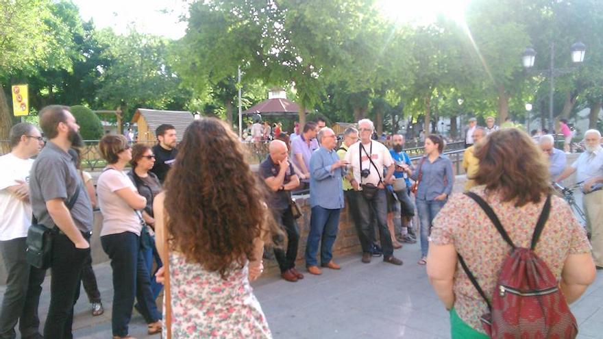 Asamblea callejera de Ganemos Ciudad Real