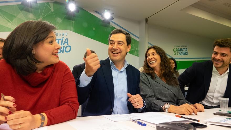 """Moreno pide a Susana Díaz que """"cierre con dignidad la etapa del socialismo en Andalucía"""""""