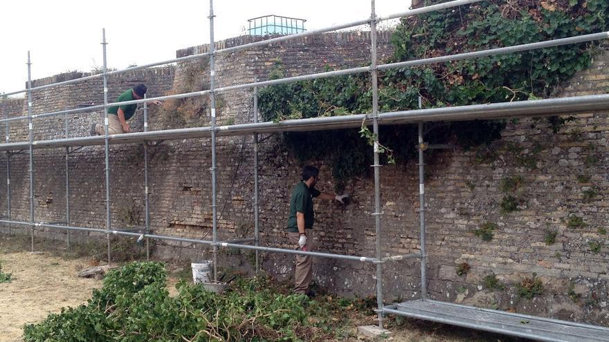 Ciudadela, puente de Miluce y Frente de Francia, algunos de los próximos trabajos de conservación de las murallas