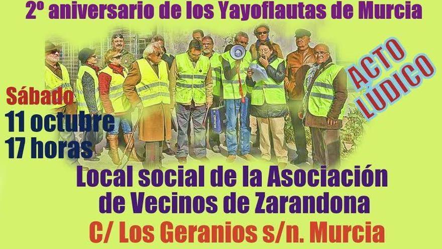 2º aniversario de los Yayoflautas de Murcia