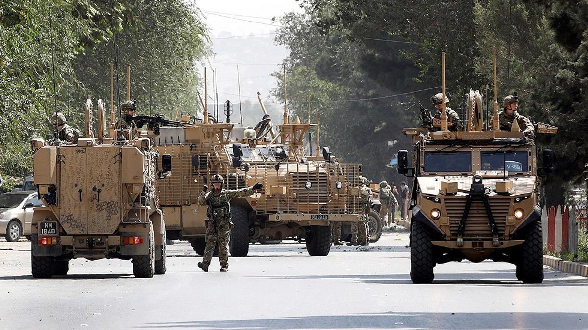 Las tropas de EEUU en Afganistán