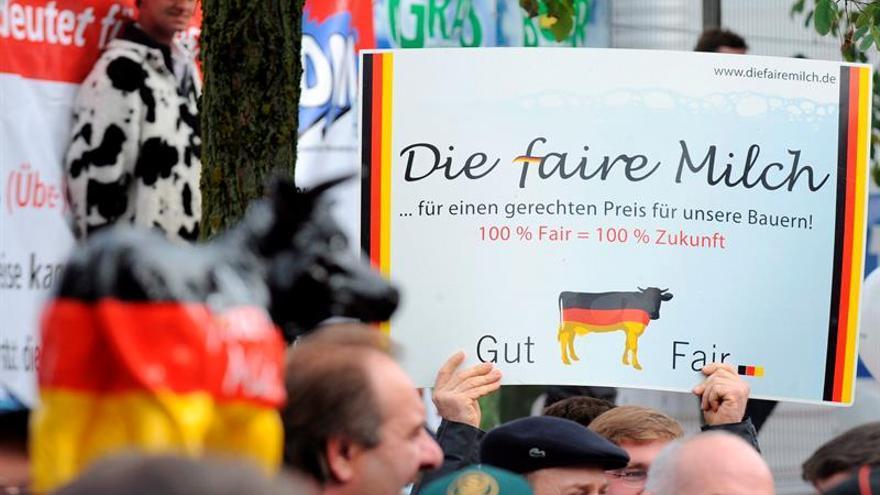 Ganaderos europeos piden a la UE ayudas para reducir la producción láctea