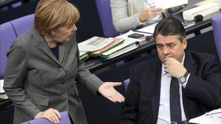 Una votación previa del Parlamento alemán da una gran mayoría para las ayudas a Grecia