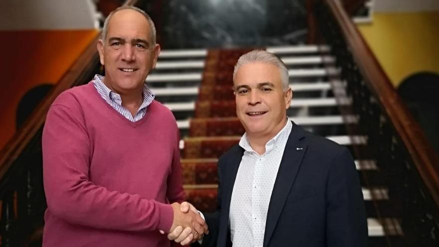 Gonzalo Rosario será el alcalde de Teror los dos primeros años de la legislatura y el popular Sergio Nuez, los dos siguientes