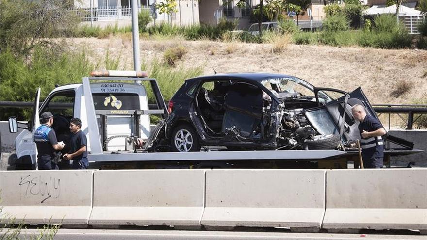 Dos jóvenes mueren en un accidente de tráfico en Alcobendas (Madrid)
