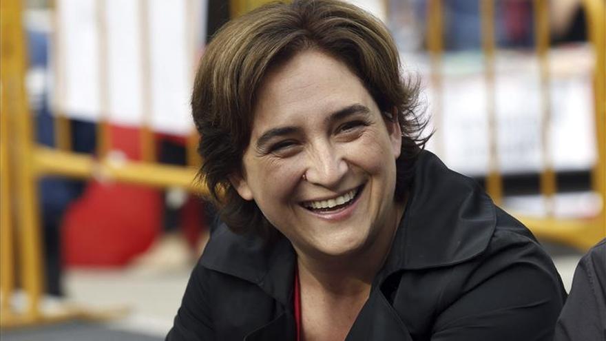Ada Colau desbancaría a Trias (CiU) en Barcelona con 11 concejales, según el CIS