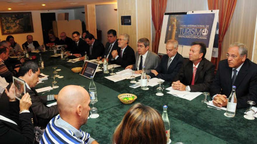 Presentación del I Foro Internacional de Turismo de Maspalomas.