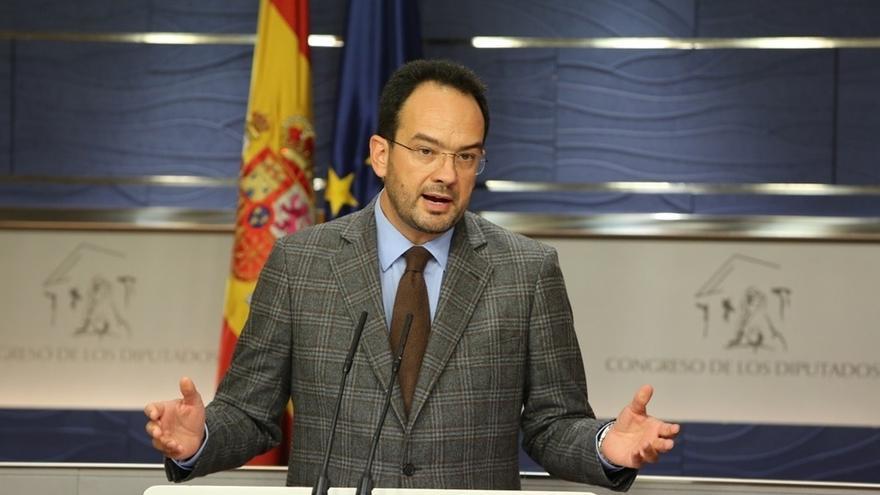"""Hernando (PSOE) dice que las manifestaciones ante el TSJC son """"poco respetuosas con la independencia judicial"""""""