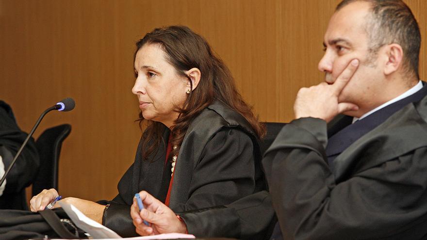 Mónica Pérez y Juan Sánchez Limiñana. (ALEJANDRO RAMOS)