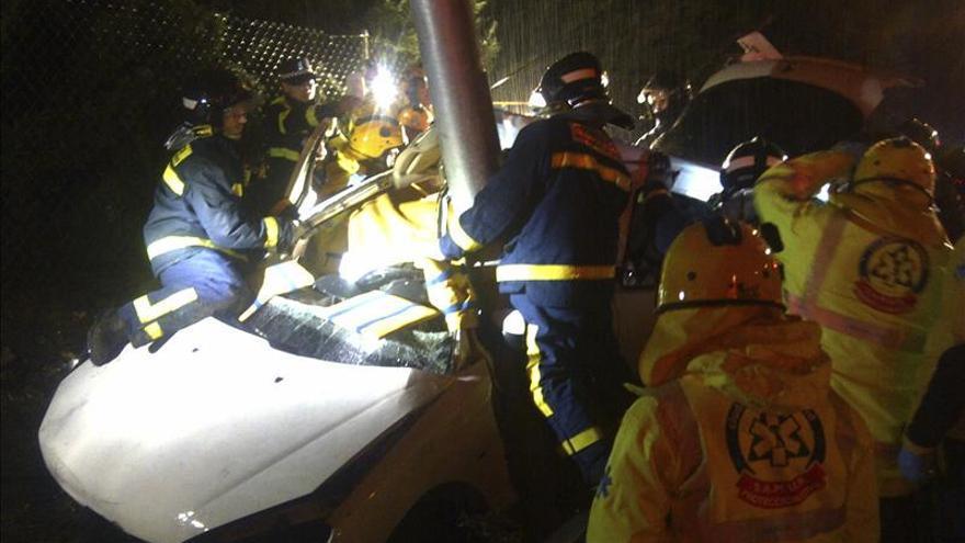 Mueren 41 personas en las carreteras en Navidad, 13 menos que el año anterior